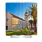 Unesco Town Of Trogir Church View Shower Curtain