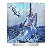Unexpected Off0093 Shower Curtain by Carey Chen
