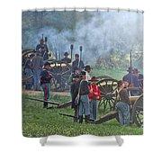 Union Artillery Battery Shower Curtain