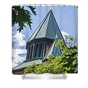 Union Collage Church Shower Curtain