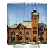 Union Depot - Pueblo Colorado Shower Curtain