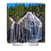 Union Falls Shower Curtain