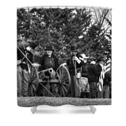 Union Gun Crew Shower Curtain