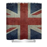 Union Jack 1 By 2 Version Shower Curtain