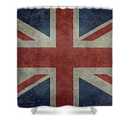 Union Jack 3 By 5 Version Shower Curtain