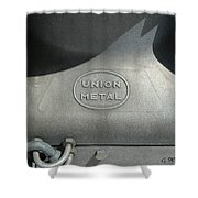 Union Metal Shower Curtain