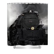 Union Pacific 3985 Shower Curtain