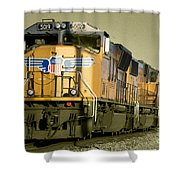 Union Pacific  Shower Curtain