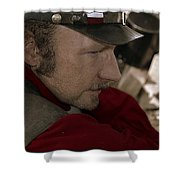 Union Soldier Shower Curtain