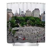 Union Square, N.y.c Shower Curtain
