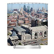 Union Station And Downtown Kansas City Shower Curtain