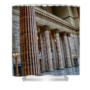 Union Station Chicago Shower Curtain