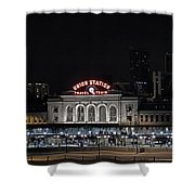 Union Station Denver Colorado 2 Shower Curtain