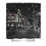 Union Station In The Winter Shower Curtain