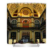 Union Station Lobby-large Size Shower Curtain