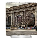 Union Station Shower Curtain