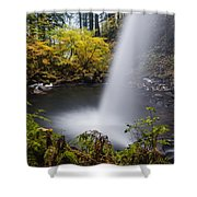 Unique View Of Ponytail Falls Shower Curtain