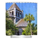 United Church Of Christ Shower Curtain