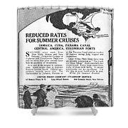 United Fruit Company, 1922 Shower Curtain