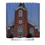 United Methodist Church Lowville Ny Shower Curtain