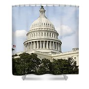 United State Capitol Dome Washington Dc Shower Curtain