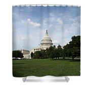 United State Capitol  Washington Dc Shower Curtain