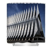 United States Air Force Academy Cadet Chapel Shower Curtain