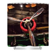 United States Airplane Museum Shower Curtain