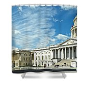 United States Capitol Shower Curtain