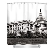 United States Capitol Senate Wing Shower Curtain