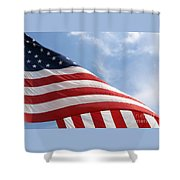 United States Flag Shower Curtain