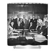 United States Industry Leaders Shower Curtain