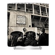 United States Penitentiary Shower Curtain