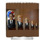 United States Presidents Shower Curtain