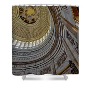 Unites States Capitol Rotunda Shower Curtain