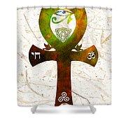 Unity 11 - Spiritual Artwork Shower Curtain