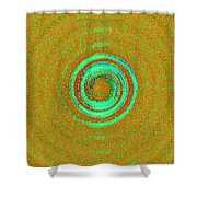 Universal Chakra Shower Curtain