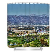 Universal City Warner Bros. Studios Clear Clear Day Shower Curtain