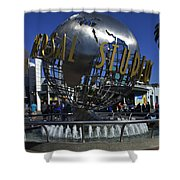 Universal Studios Globe Shower Curtain