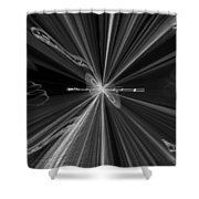Universe Carols Shower Curtain