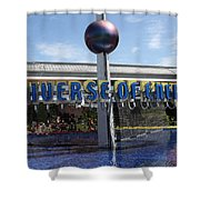 Universe Of Energy Shower Curtain