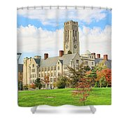 University Hall University Of Toledo 9206 Shower Curtain