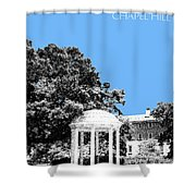 University North Carolina Chapel Hill - Light Blue Shower Curtain
