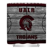 University Of Arkansas At Little Rock Trojans Shower Curtain