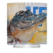 University Of Florida Shower Curtain