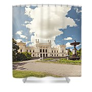 University Of Lund Shower Curtain