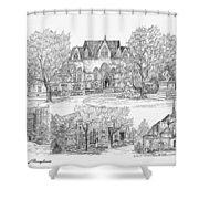 University Of Pennsylvania Shower Curtain