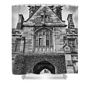 University Of Sydney-black And White V4 Shower Curtain