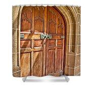 University Of Sydney Doors Shower Curtain