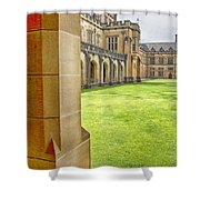 University Of Sydney Quadrangle V2 Shower Curtain
